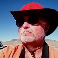 Greg Edwards central Nevada, red hat posted on SpaceFlight Insider