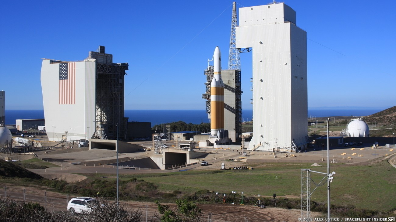 Delta IV rocket launch delayed from Vandenberg on Friday