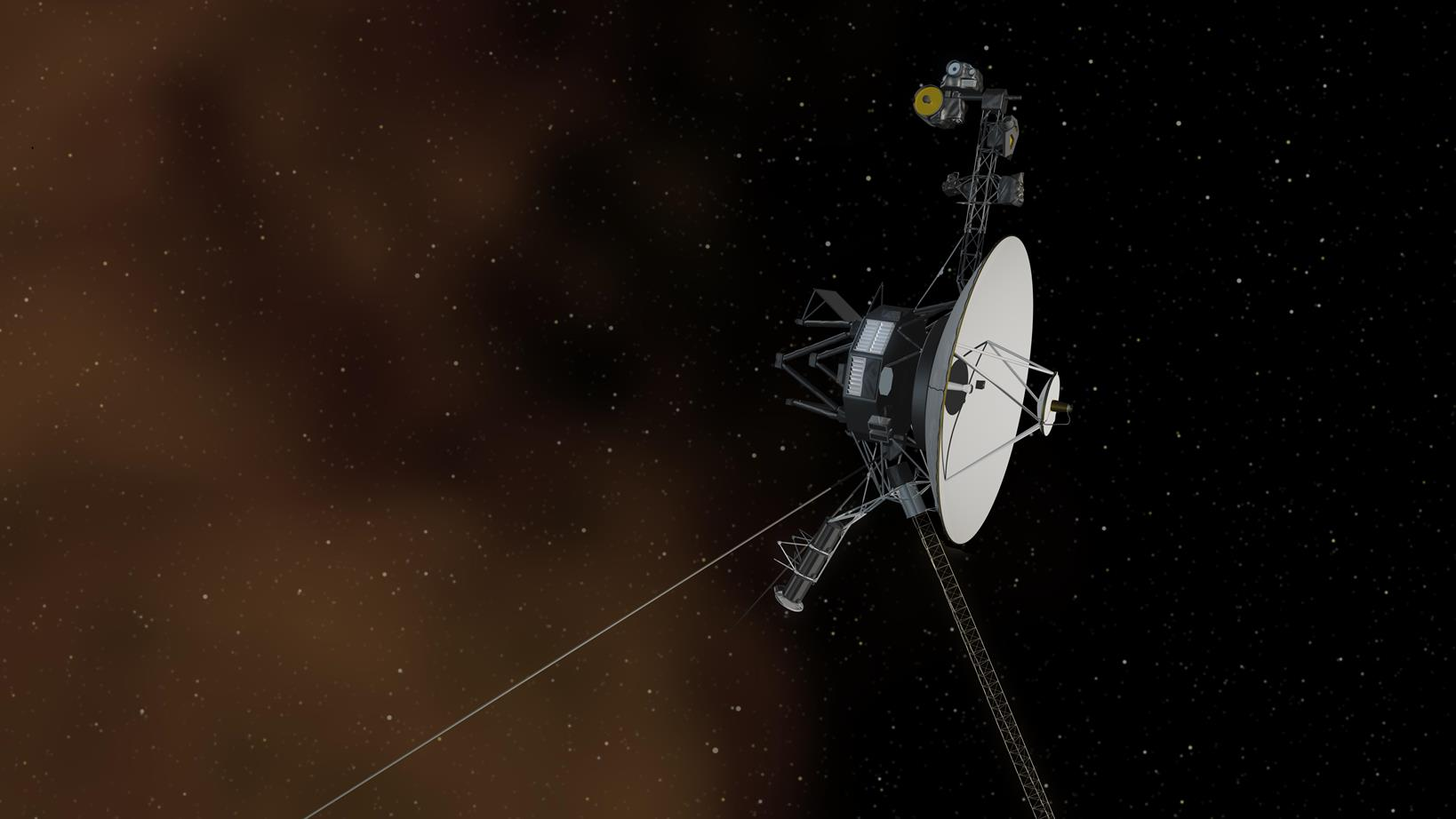 NASA Voyager 2 spacecraft image credit NASA JPL