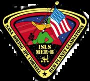 Mission logo for MER-B - Opportunity. Image Credit: NASA