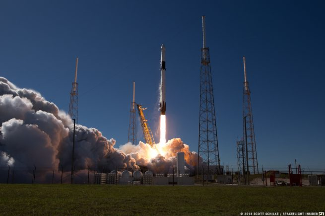 SpaceX launched the CRS-16 mission on Dec. 5, 2018. Photo Credit: Scott Schilke / SpaceFlight Insider