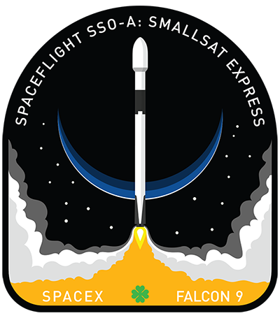 SSO-A mission logo. Image Credit: SpaceX