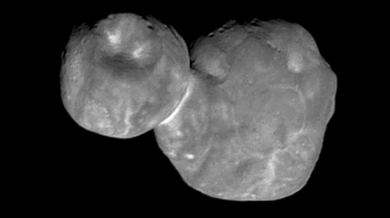 Ultima Thule as imaged by NASA's New Horizons spacecraft. Image Credit: NASA/Johns Hopkins University Applied Physics Laboratory/Southwest Research Institute