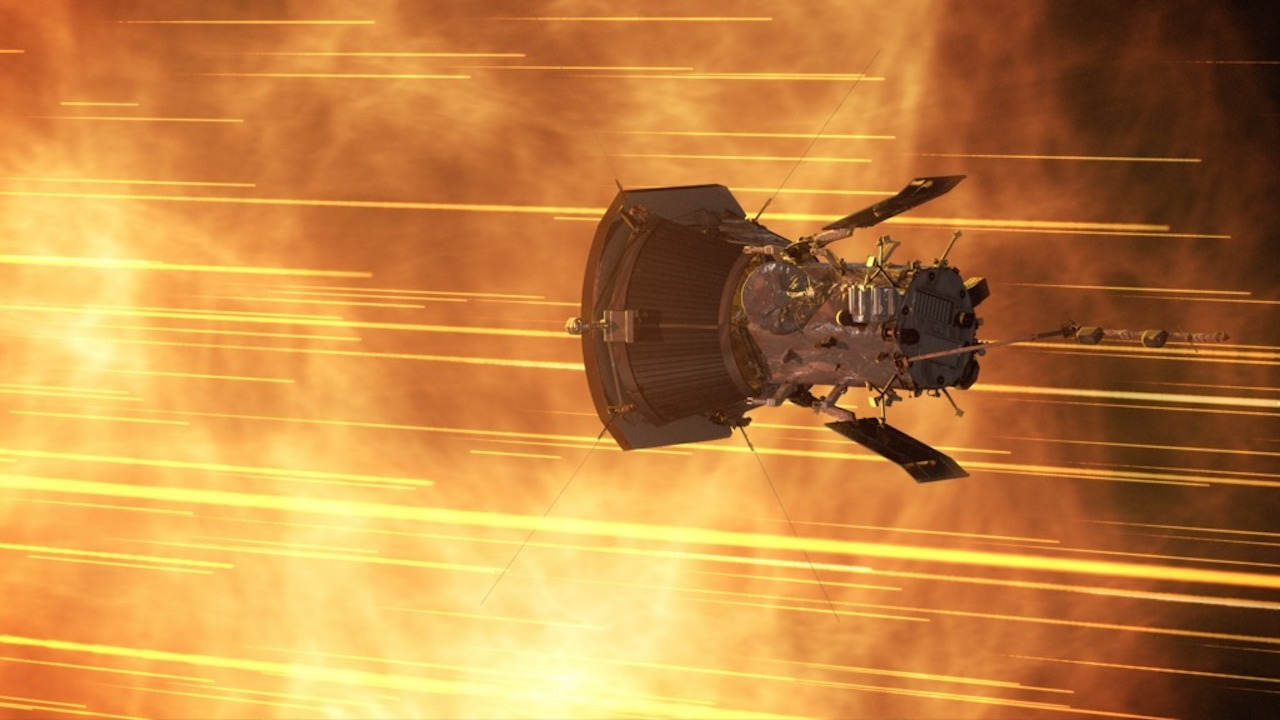 NASA's Parker Solar Probe has completed its first orbit of the Sun. Image Credit: NASA
