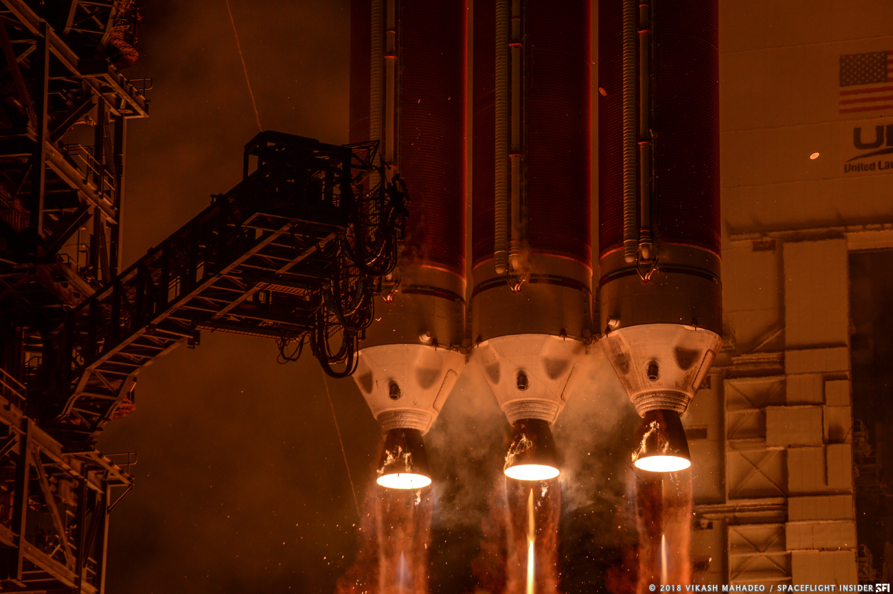 Parker Solar Probe was launched on Aug. 12, 2018, from Cape Canaveral Air Force Station's Space Launch Complex 37 in Florida. Photo Credit: Vikash Mahadeo / SpaceFlight Insider