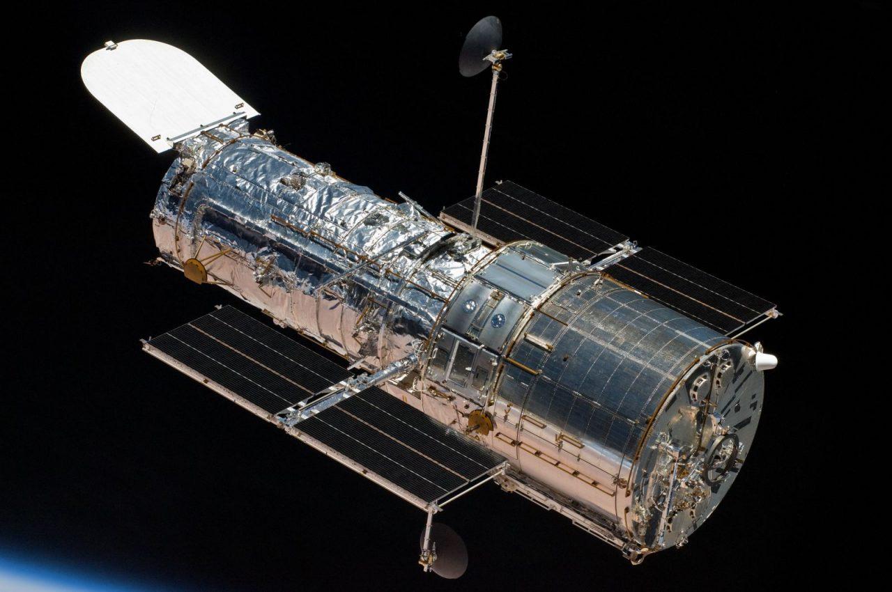 Hubble Space Telescope in Earth orbit. Credit: NASA