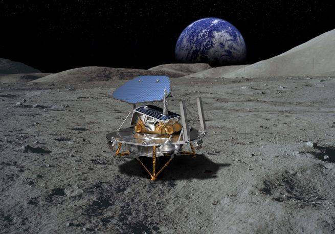 Lockheed Martin's McCandless Lunar Lander. Image Credit: Lockheed Martin