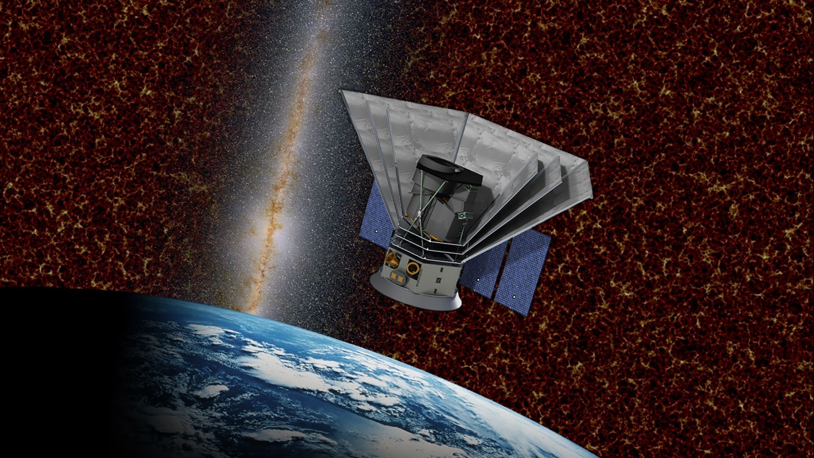 NASA's Spectro-Photometer for the History of the Universe, Epoch of Reionization and Ices Explorer or SPHEREx spacecraft is currently slated for a 2023 liftoff. It is hoped that SPHEREx will help astronomers how common the elements of life are throughout the universe. Image Credit: Caltech