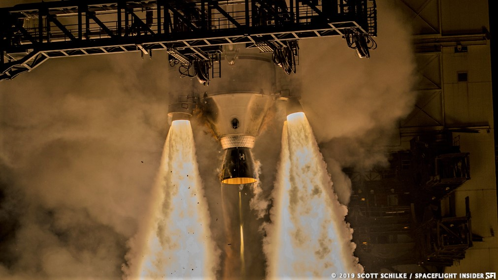 A United Launch Alliance Delta IV rocket launches the WGS-10 satellite for the U.S. Air Force. Photo Credit: Scott Schilke / SpaceFlight Insider