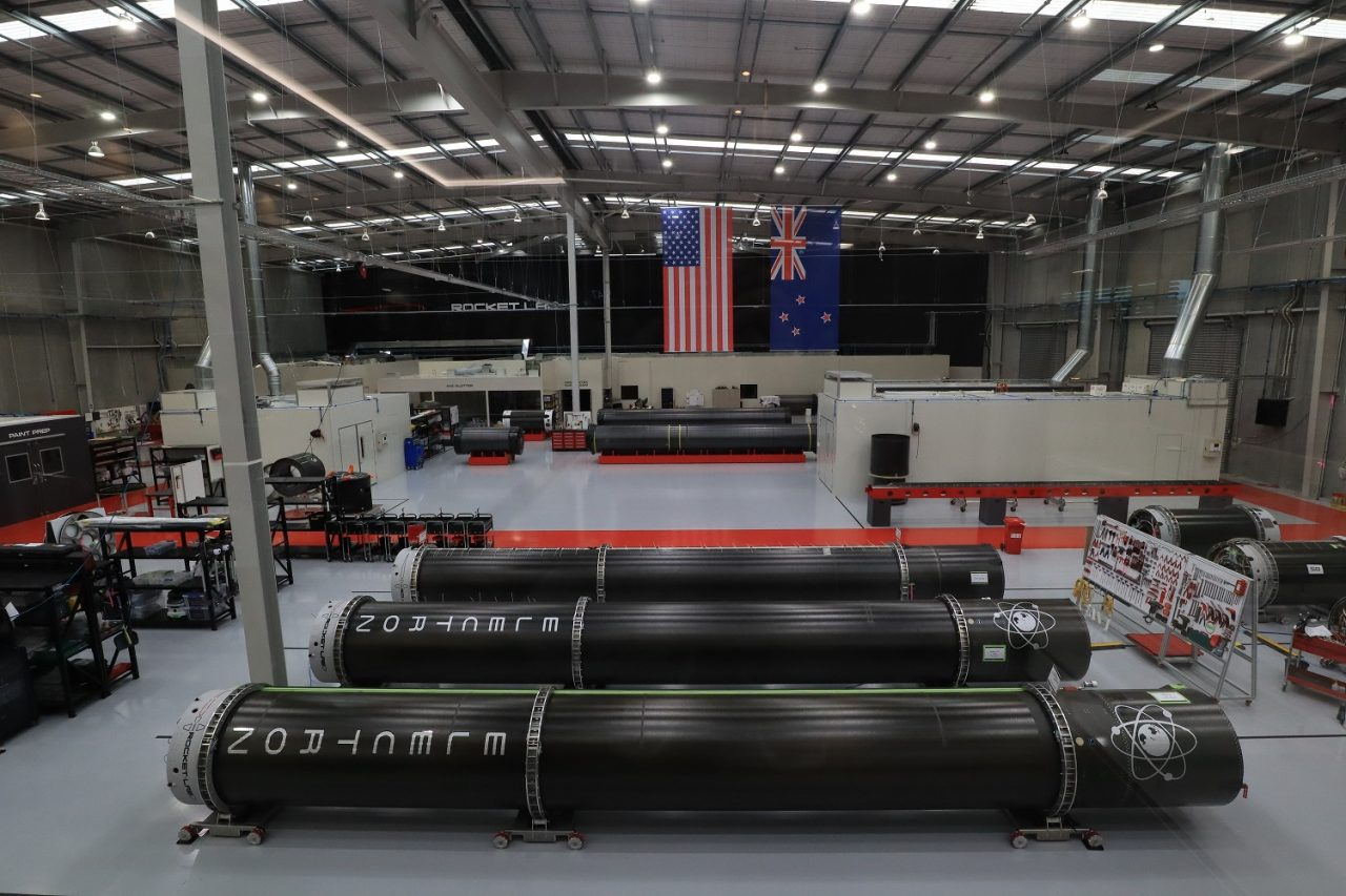 Rocket Lab's production facility. Photo Credit: Rocket Lab