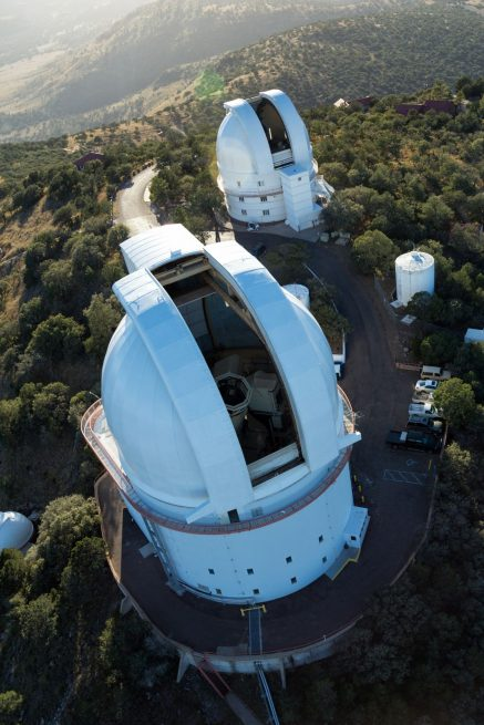 The LRRs placed on the Moon during Apollos 11, 14 and 15 have been used by the McDonald Observatory to measure the distance between the Earth and the Moon for decades. Photo Credit: McDonald Observatory