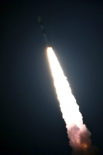 On May 22, 2019, ISRO launched a Polar Satellite Launch Vehicle with RISAT-2B. Photo Credit: ISRO