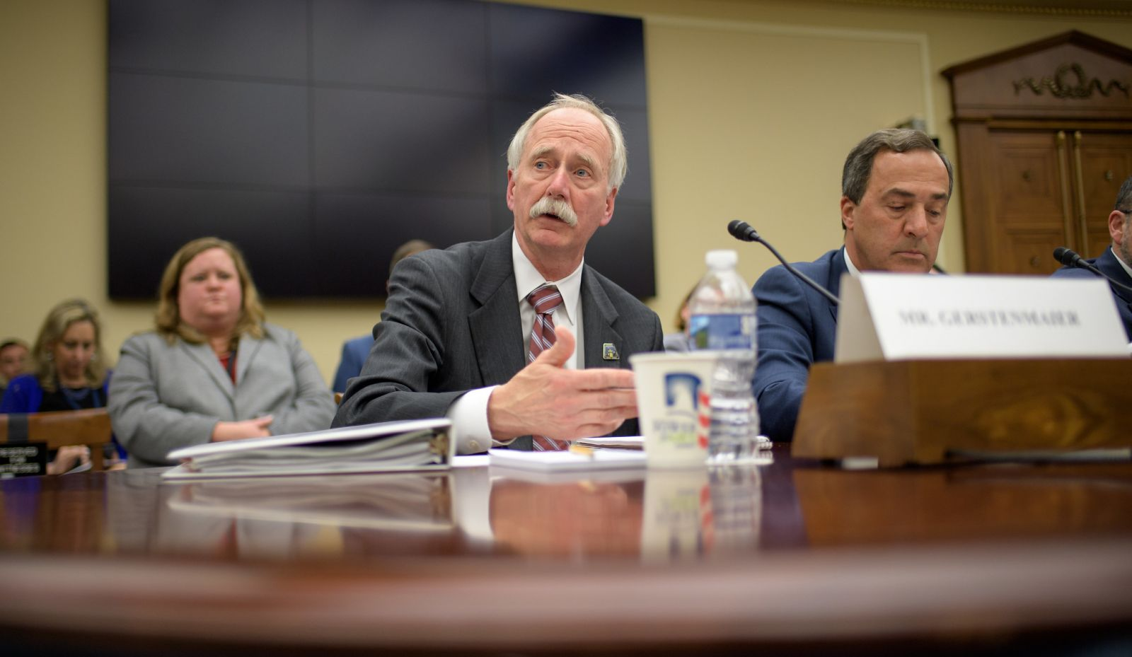 NASA Associate Administrator for Human Exploration and Operations William Gerstenmaier testifies during a House Subcommittee on Space and Aeronautics hearing on May 8, 2019. Photo Credit: Bill Ingalls / NASA
