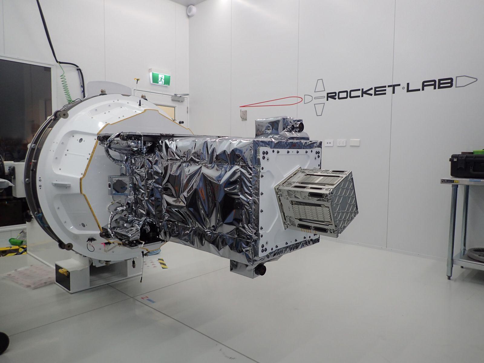 The R3D2 DARPA satellite. Photo Credit: Northrop Grumman