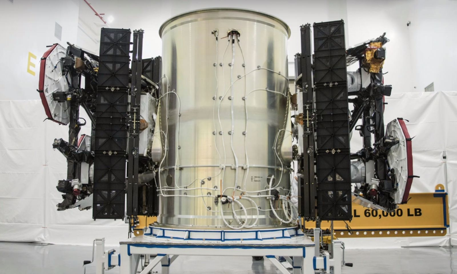 The first two prototype Starlink satellites were launched by SpaceX in February 2018. Photo Credit: SpaceX