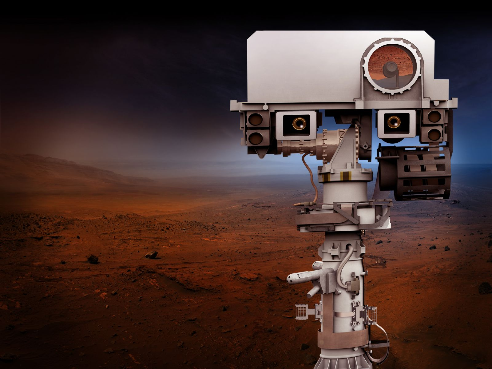 The Mars 2020 mission's rover will be based off of the successful Curiosity rover which touched down on the Red Planet's surface on August 6 of 2012. Image Credit: NASA