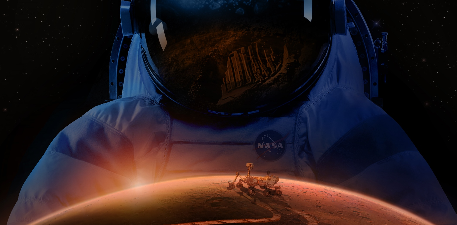 The Mars 2020 mission is being designed to assist NASA in determining what the best landing sites and systems are for potential crewed voyages to the Red Planet. Image Credit: NASA