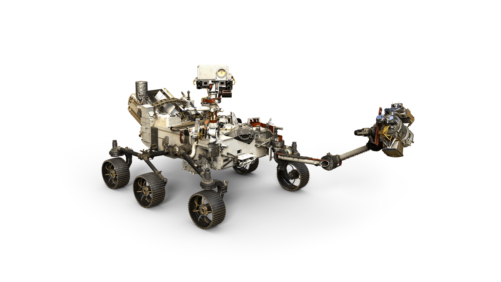 Artist's depiction of NASA's Mars 2020 rover. Image Credit: NASA JPL-Caltech