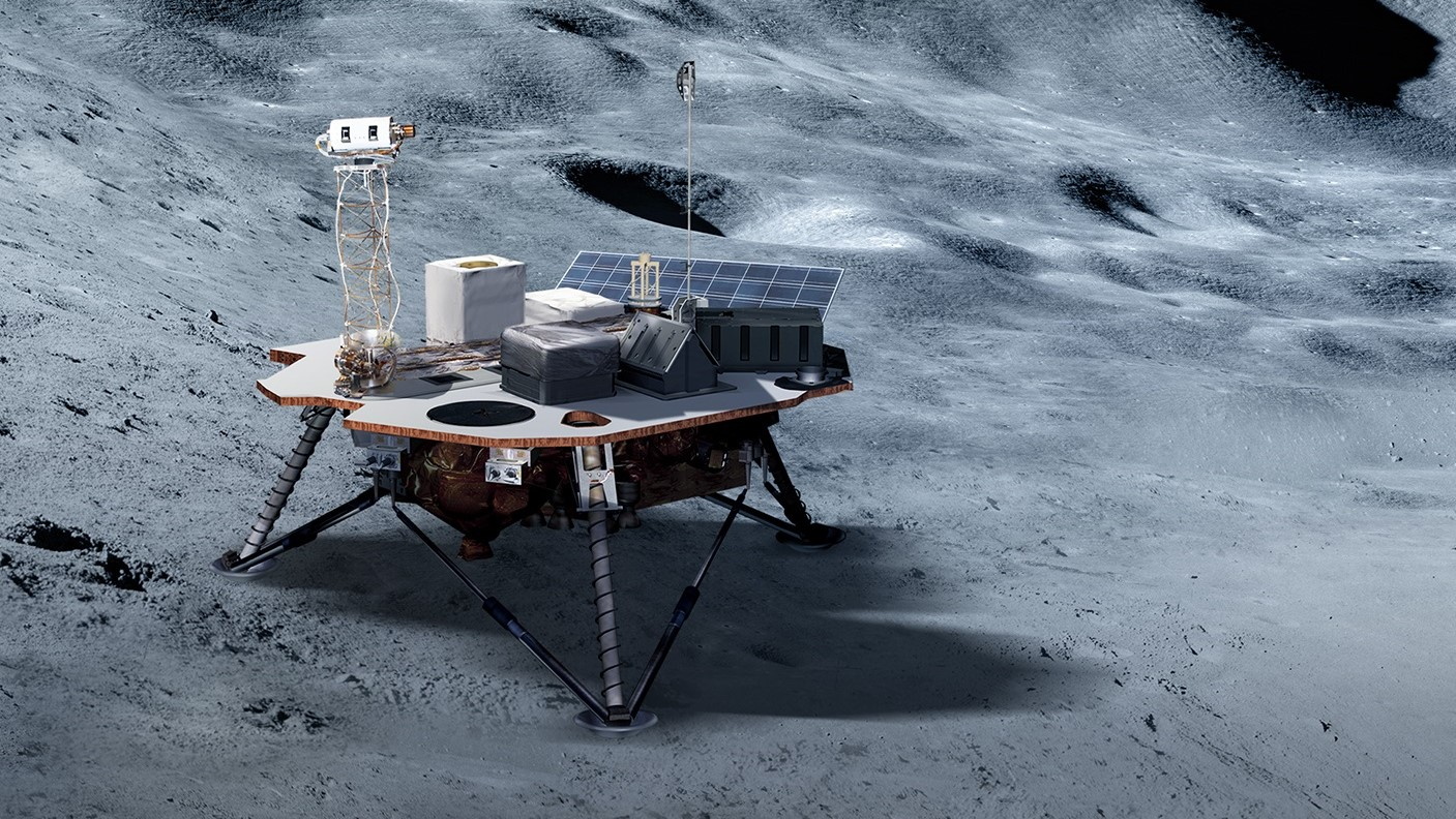 NASA selected three companies for its commercial Moon landing service to send science payloads to the lunar surface in 2020 and 2021. Image Credit: NASA