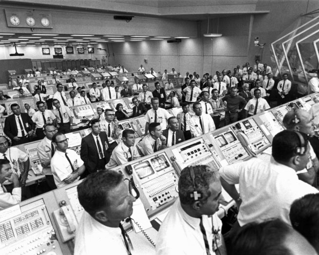 More than 400,000 personnel were involved with the Apollo Program during the late 60s and early 70s. Photo Credit: NASA