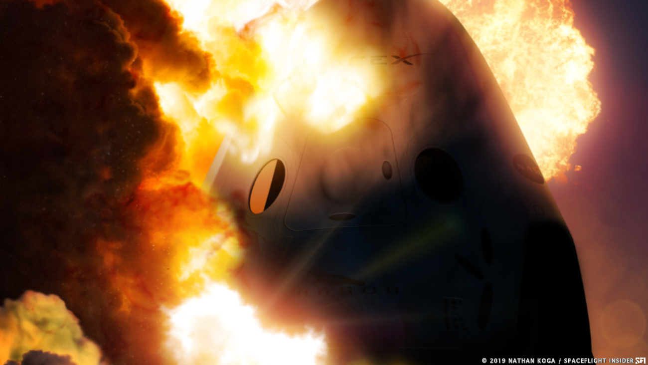 SpaceX reveals cause of Crew Dragon explosion ...