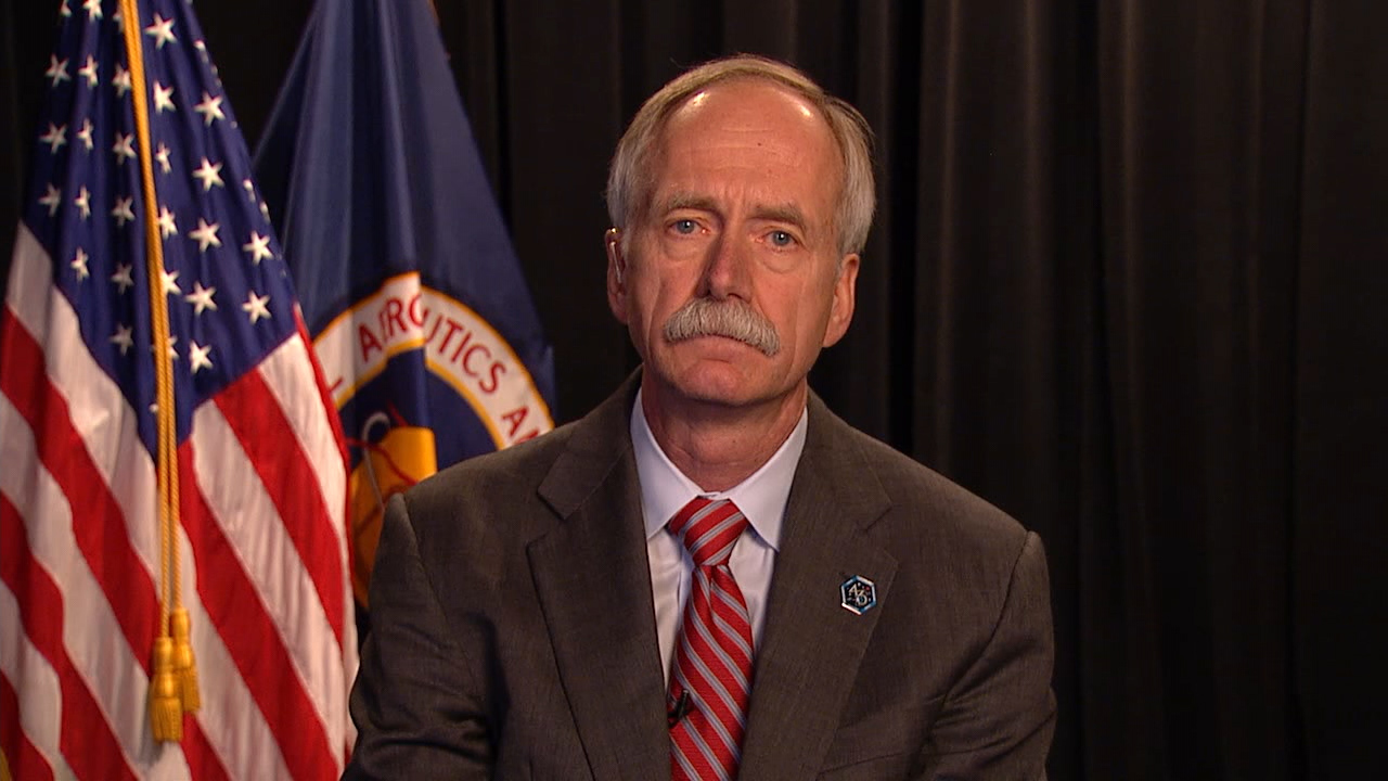 William H. Gerstenmaier, NASA's former Associate Administrator, Human Exploration and Operations. Photo Credit: NASA