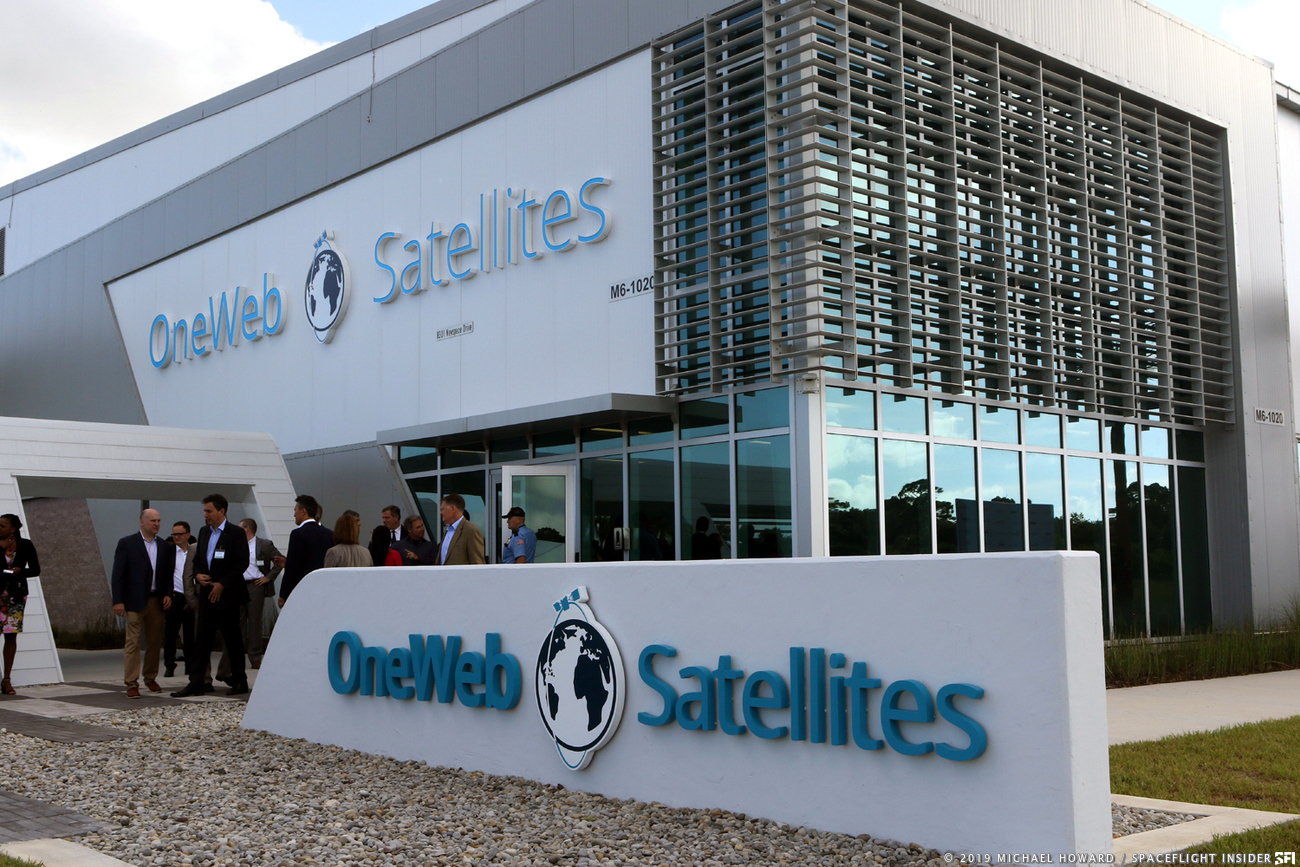 OneWeb Satellites' facilities at Kennedy Space Center's Exploration Park. Photo Credit: Mike Howard / SpaceFlight Insider