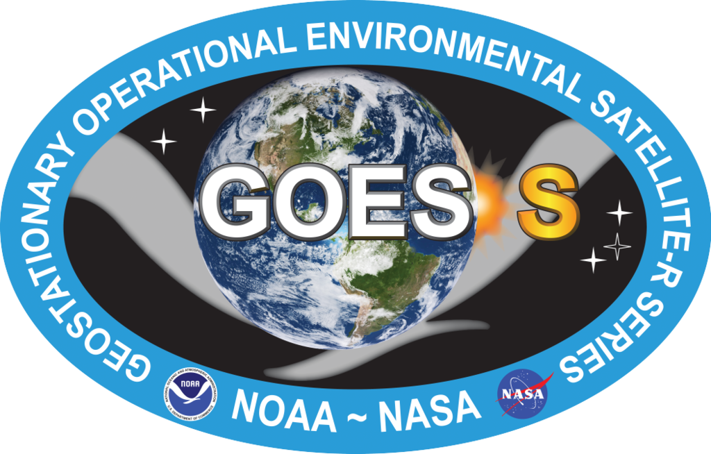 GOES S logo. Image Credit: NOAA / NASA