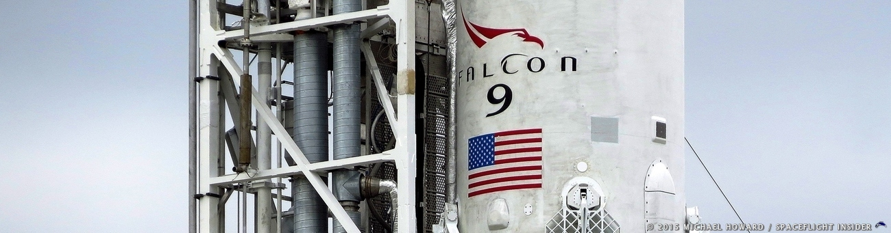 SpaceX has scheduled another static test fire of the Falcon 9 rocket tasked with sending the AMOS-17 communications satellite to orbit. Photo Credit: Mike Howard / SpaceFlight Insider
