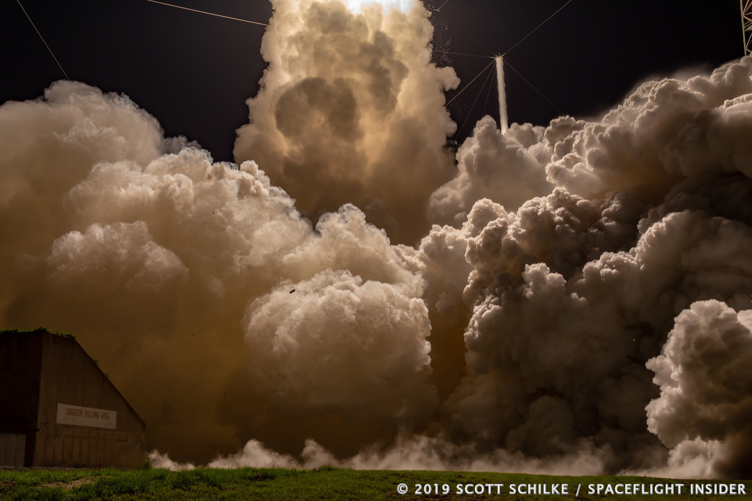 The launch of AEHF-5 marked the third that ULA has conducted in 2019. Photo Credit: Scott Schilke / SpaceFlight Insider