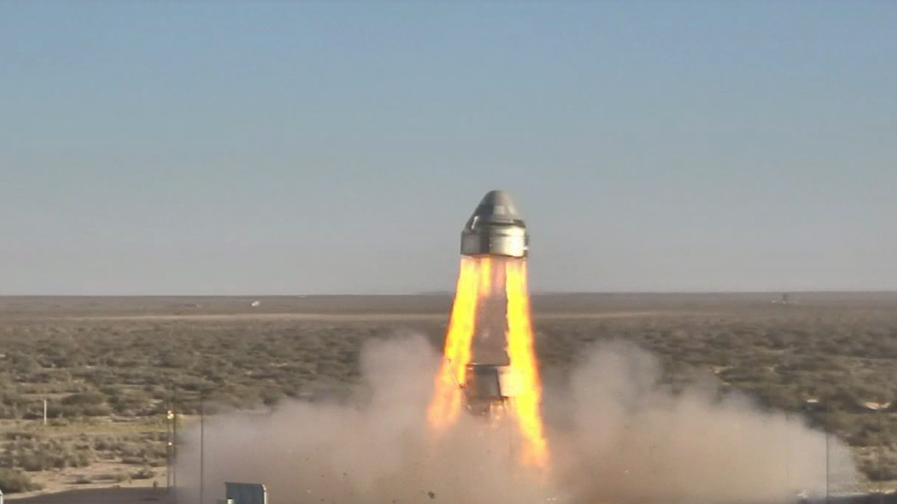 On Nov. 4, 2019 Boeing and NASA conducted a Pad Abort Test of a model of Boeing's Starliner spacecraft. The test was carried out at Launch Complex 32 located in White Sands, New Mexico. Photo Credit: NASA