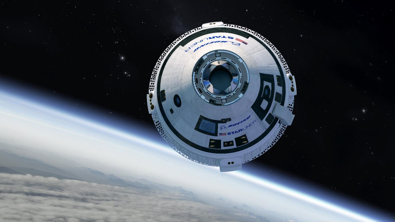 United Launch Alliance sent the first of Boeing's Starliner spacecraft on its way to the International Space Station earlier today. Image Credit: Boeing / NASA