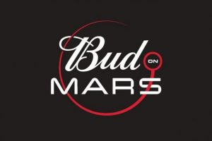 The Bud on Mars logo. Image Credit: Budweiser