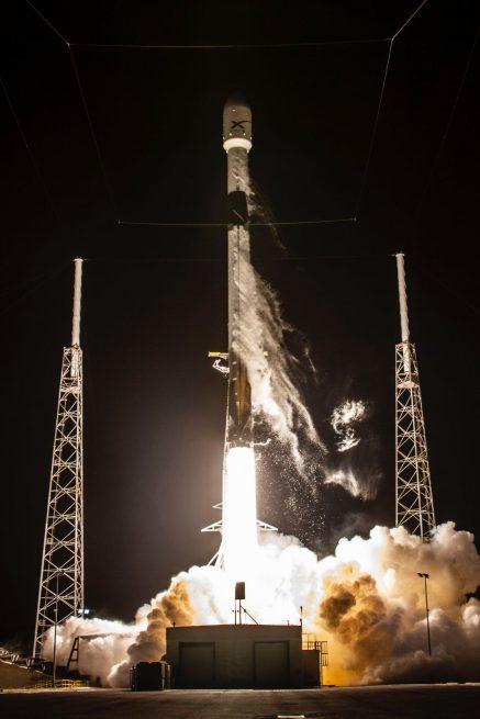 SpaceX's fleet of Starlink spacecraft are being placed on orbit to help provide broadband internet services to areas with less coverage. Photo Credit: SpaceX