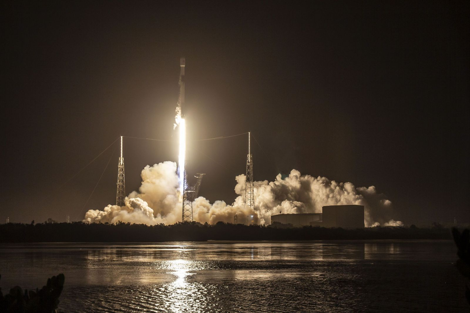 A SpaceX Falcon 9 rocket with the JCSAT-18 / Kacific-1 satellite launches from Cape Canaveral Air Force Station's Space Launch Complex 40 in Florida on 7.10 p.m. EST (00:10 UTC on Dec. 17 ) on Dec. 16, 2019. Photo Credit: SpaceX