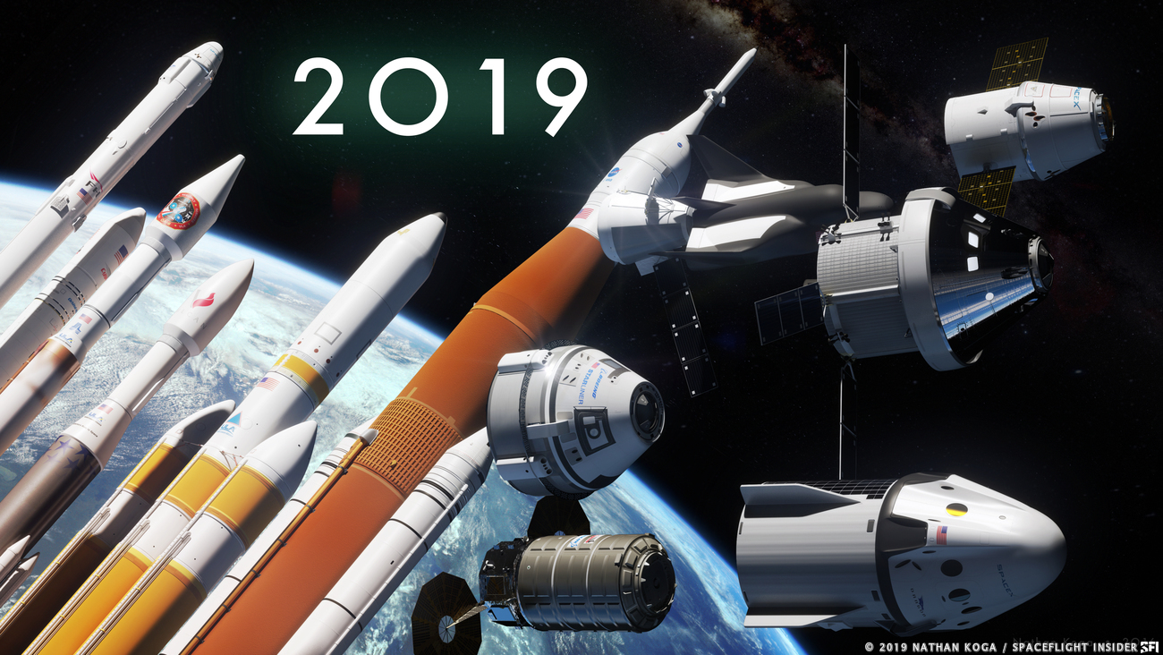 Highs and lows - 2019 had them all. Image Credit: Nathan Koga / SpaceFlight Insider