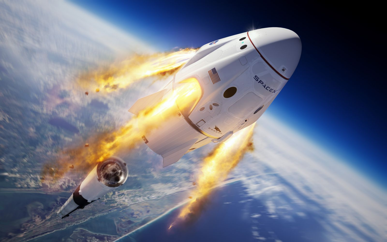 SpaceX successfully completed yet another milestone under NASA's Commercial Crew Program to send astronauts to the International Space Station. Image Credit: NASA