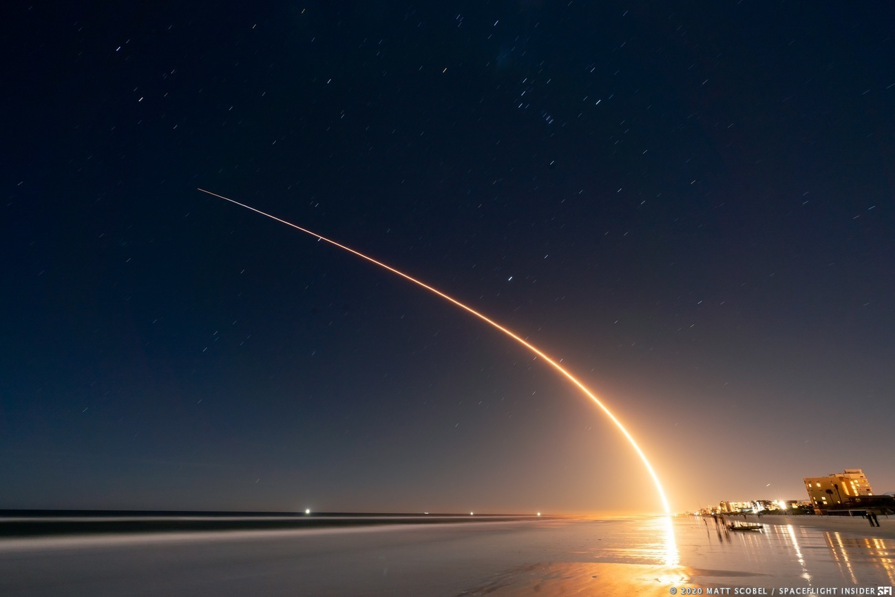 space x launch schedule 2020