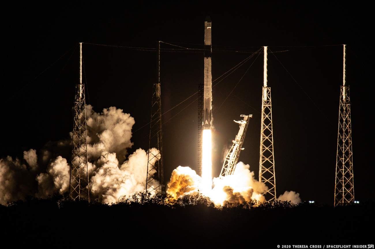 Space X's CRS-20 mission took flight atop a Falcon 9 rocket, March 6, 2020.