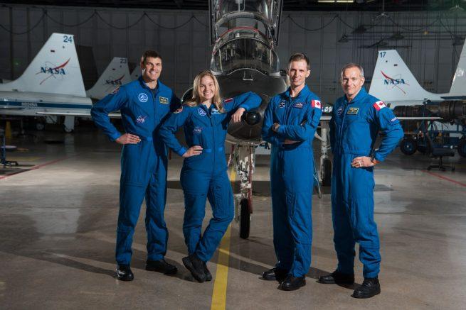 CSA astronauts