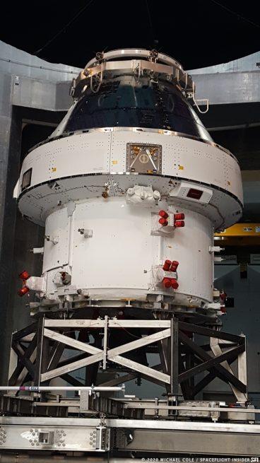 Artemis I Orion Plum Station