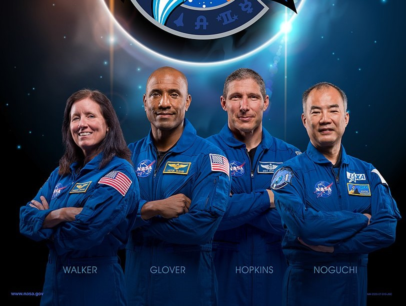 The astronauts selected for the Crew-1 mission, which is expected to launch no earlier than late September. Credit: NASA