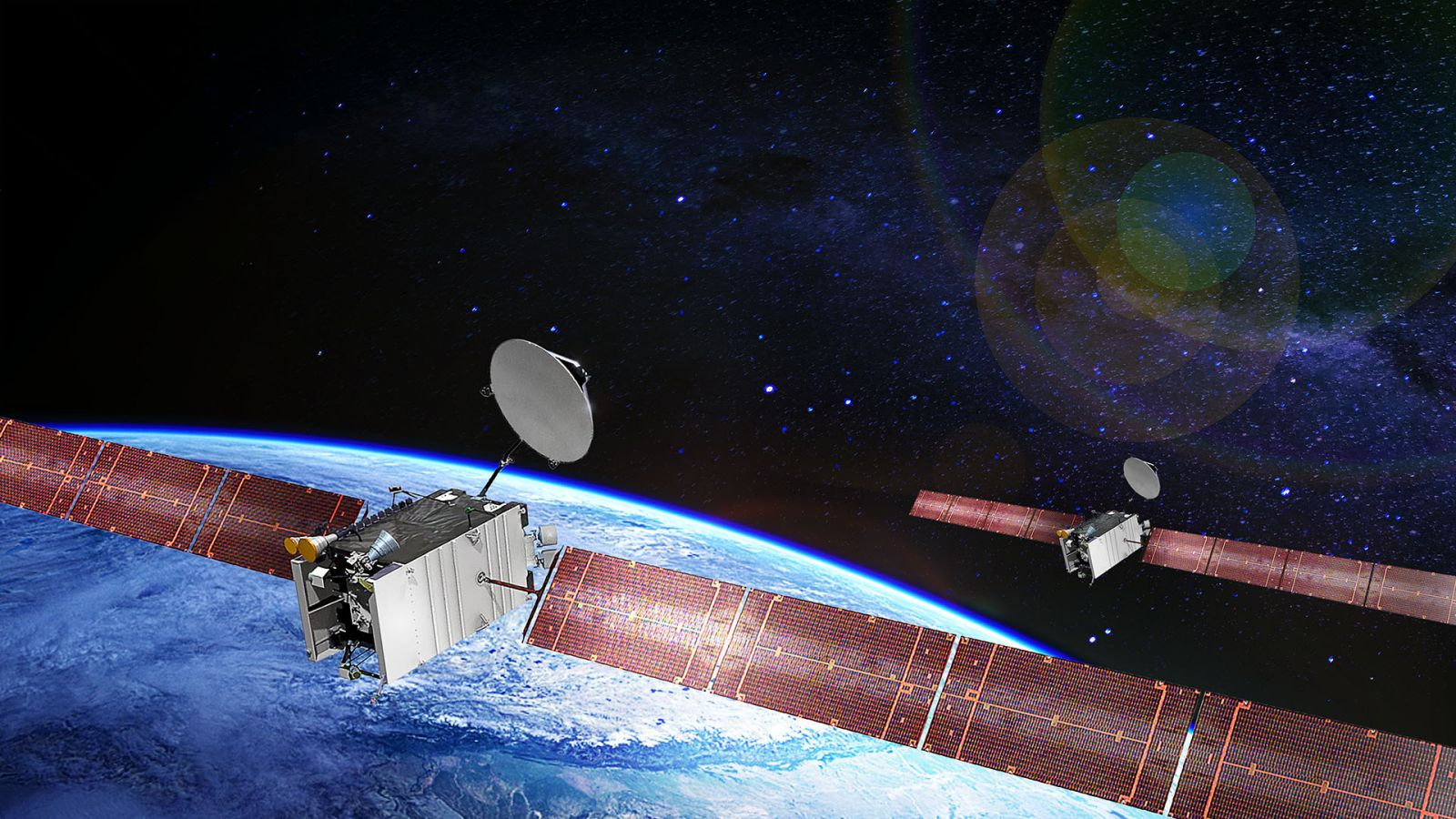 SES-20, 21 satellite render