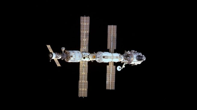 The ISS during Expedition 1