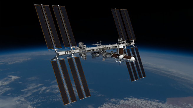 A rendering of Axiom Space's proposed commercial modules attached to the ISS. This is what this ISS could look like as it approaches 30 years of continuous human presence in space. Credit: Axiom Space