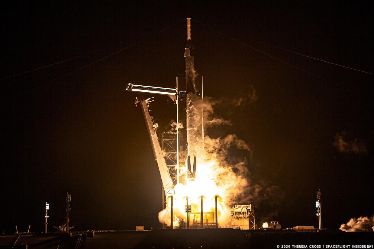 SpaceX Astronauts Had A Friend On Their Flight Last Night: Baby Yoda
