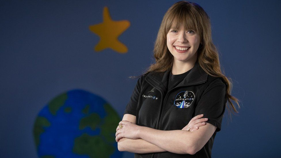 29-year-old Hayley Arceneaux, who will fly as the youngest-ever spaceflight participant as part of the Inspiration4 mission later in 2021. Credit: St. Jude
