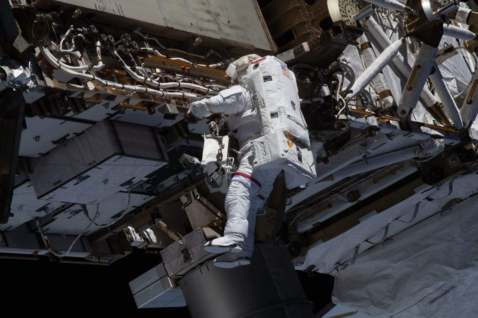 Astronauts complete power upgrades for space station