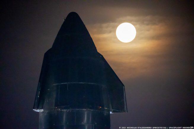 Starship SN15. Credit: Nicholas D'Alessandro / Spaceflight Insider