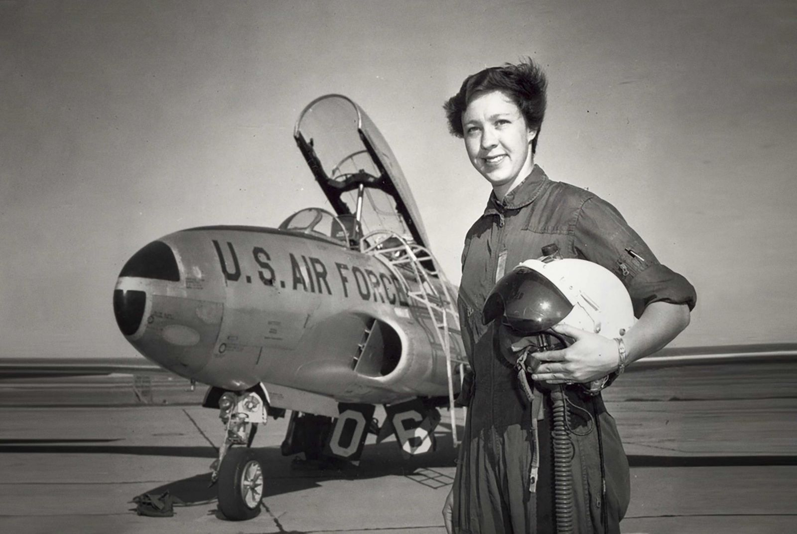 Wally Funk went through many of the same screening tests that the original Mercury astronauts underwent. However, she never got a chance to fly into space. Now the 82-year-old pilot will be joining Jeff Bezos on the first crewed suborbital spaceflight of Blue Origin's New Shepard rocket as early as July 20, 2021. Credit: Blue Origin